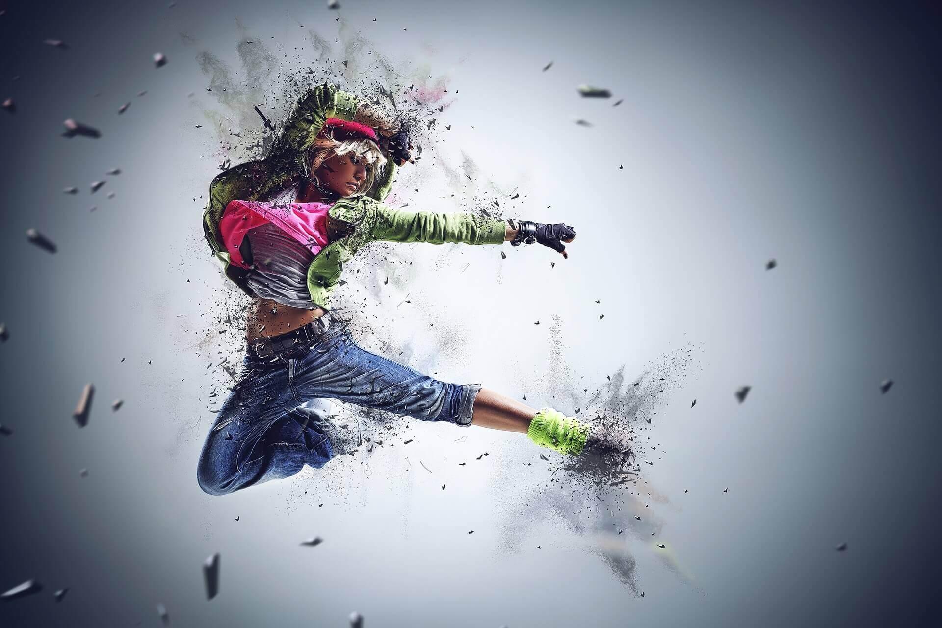 女性のダンサー