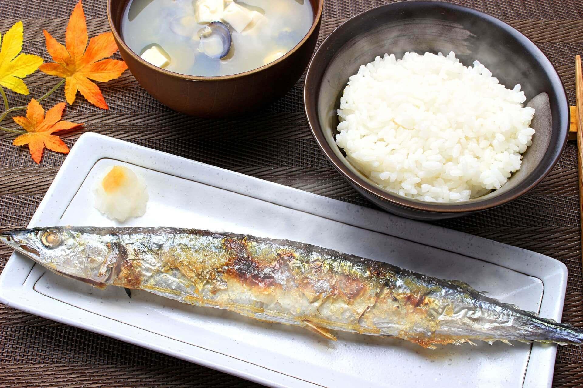 食欲の秋 秋刀魚