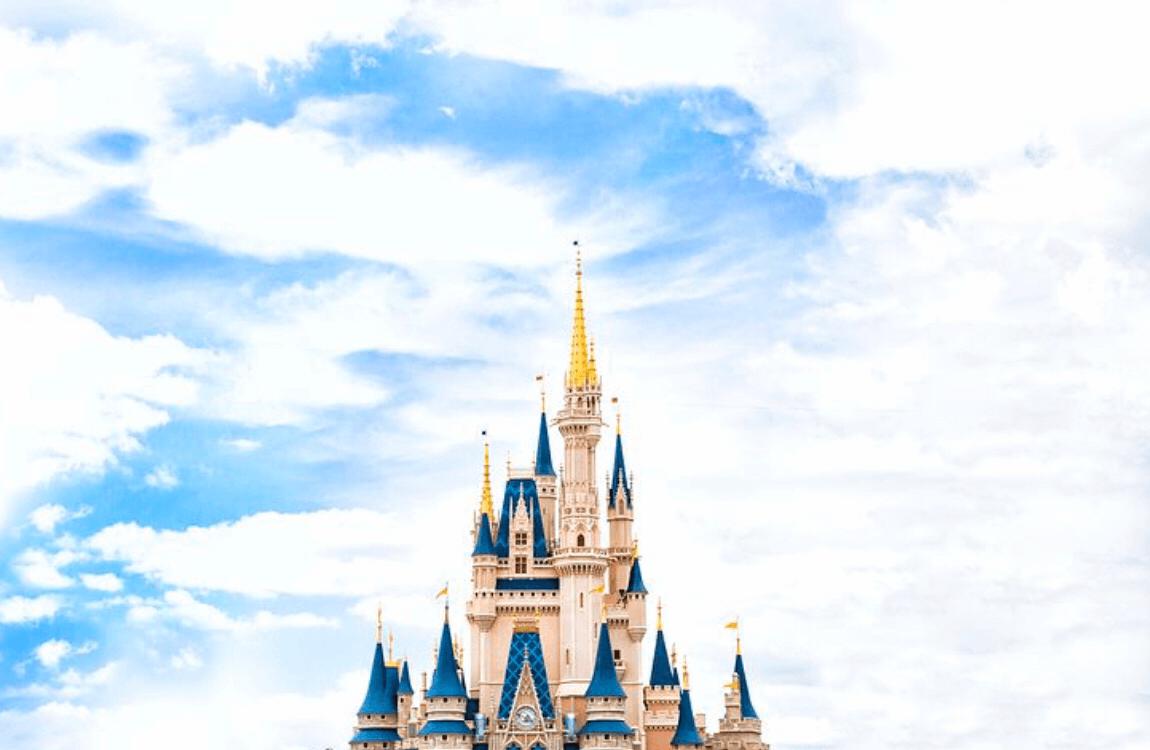 お城と青空